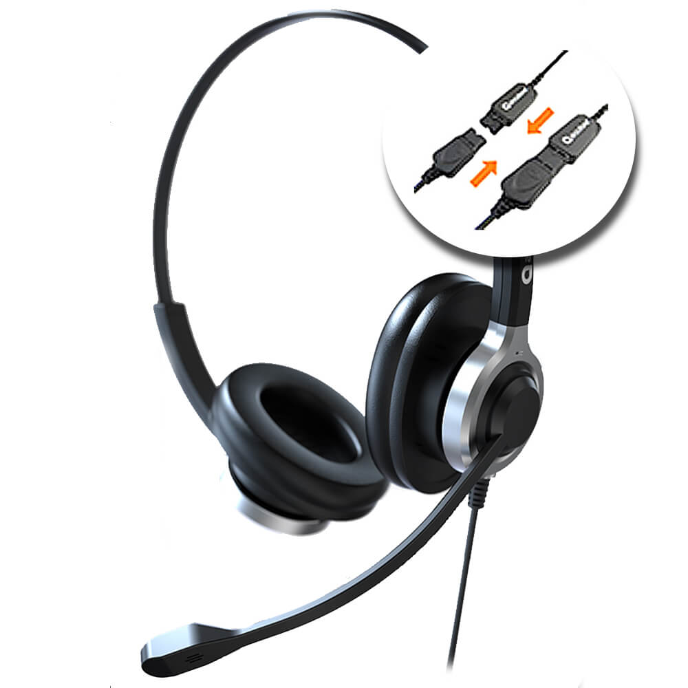 610MKII-Con Cable QD para telef�no